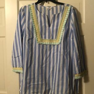 Striped shirt by Crown and Ivy sz XL